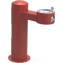 Elkay Outdoor Fountain Pedestal Non-Filtered, Non-Refrigerated Freeze Resistant Red