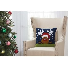 "Home for the Holiday Yx090 Multicolor 18"" X 18"" Throw Pillows"