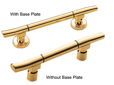 Gold Plated Handle
