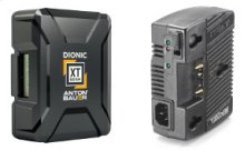 ANTON BAUER DIONIC XT 90 BATTERY & CHARGER