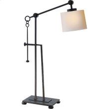 Visual Comfort S3030BR-NP Ian K. Fowler Aspen 24 inch 60 watt Hand Painted Blackened Rust Task Table Lamp Portable Light