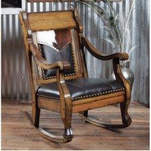 Cowboy Spirit Rocking Chair