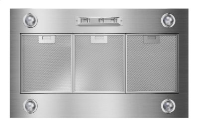 36-Inch Custom Hood Liner - Stainless Steel Product Image