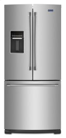 19.6 cu ft French Door Refrigerator with Strongbox Door Bins Product Image