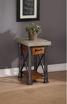 Steampunk Drawer Side Table