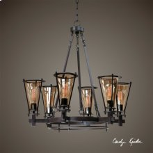 Frisco, 6 Lt Chandelier