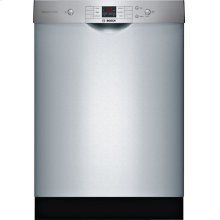 100 Series built-under dishwasher 24'' Stainless steel SHEM3AY55N