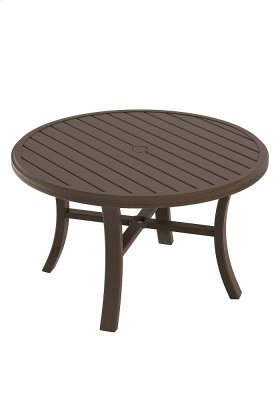 """Banchetto 42"""" Round Chat Umbrella Table"""