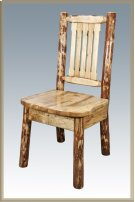 Glacier Country Log Dining Chair Product Image