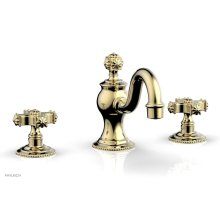 MARVELLE Widespread Faucet 162-01 - Polished Brass Uncoated