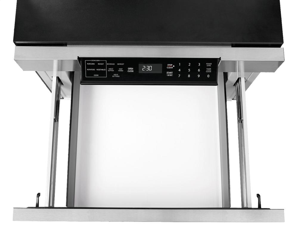 sharp microwave drawer. Sharp Microwave Drawer Oven, 24 In. 1.2 Cu. Ft. 1000W Stainless Steel