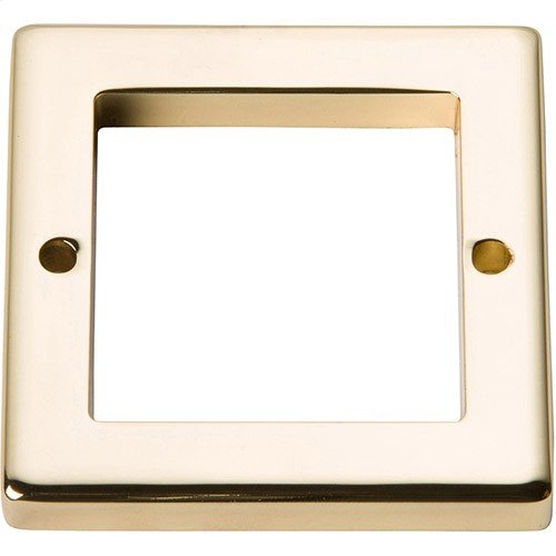 Tableau Square Base 1 13/16 Inch - French Gold