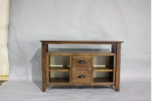 """#580 Small Canyon Entertainment Console 48""""wx15""""dx30""""h"""