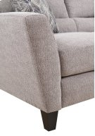 Emerald Home Speakeasy Loveseat W/2 Pillows Speckled Brown U3207-01-25 Product Image