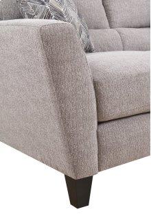 Emerald Home Speakeasy Sofa W/2 Pillows Speckled Brown U3207-00-25