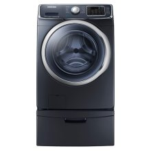 WF6300 4.5 cu. ft. Front Load Washer with SuperSpeed (Onyx)-SPECIAL OPEN BOX/RETURN CLEARANCE SN#00552
