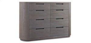 Palmer Eight-Drawer Driftwood Dresser