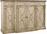 Sanctuary 4-Door 3-Drawer Credenza - Dune & Drift Product Image