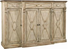 Sanctuary 4-Door 3-Drawer Credenza - Dune & Drift