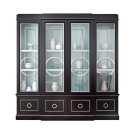 Astoria Breakfront with Circle Mullion Glass Doors Product Image