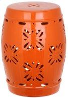 Sakura Garden Stool - Orange Product Image