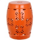 Sakura Garden Stool - Orange Product Image