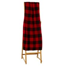 Buffalo Plaid Knit Throw.