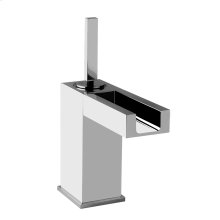 Single lever washbasin mixer with pop-up assembly Spout projection 4-13/16""
