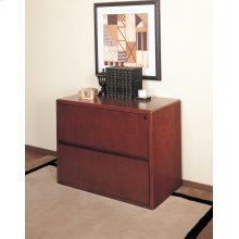 LATERAL FILE 37X20X29, MAHOGANY