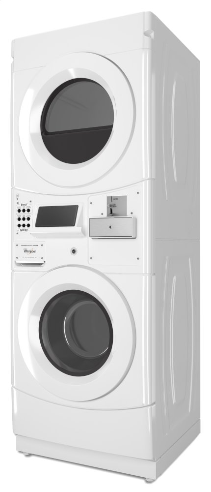 CET9000GQWhirlpool Whirlpool® Commercial Electric Stack Washer/Dryer