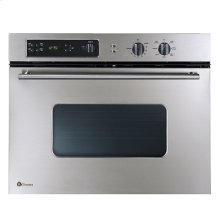 "GE Monogram® 30"" European-Design Stainless Steel Single Convection Wall Oven"