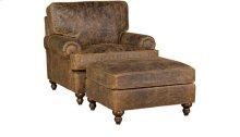 Chatham Leather Chair, Chatham Ottoman