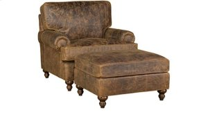 Chatham Leather Chair, Chatham Ottoman