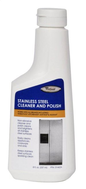 Stainless Steel Appliance Cleaner & Polish - 8 oz.