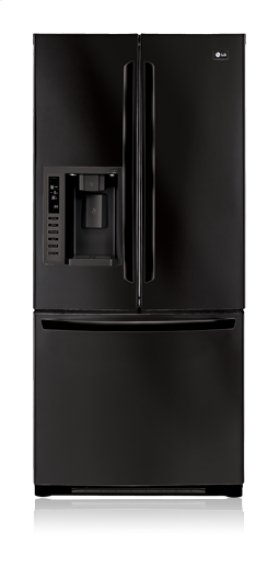 3-Door French Door Refrigerator with Ice and Water Dispenser (22.6 cu. ft.)