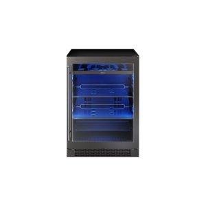 "Zephyr24"" Black Stainless Single Zone Beverage Cooler"
