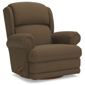 Kirkwood Reclina-Glider® Swivel Recliner w/ Brass Nail Head Trim