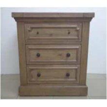 Florence Three-drawer Nightstand