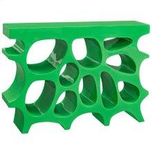 Wander Small Fiberglass Stand in Green