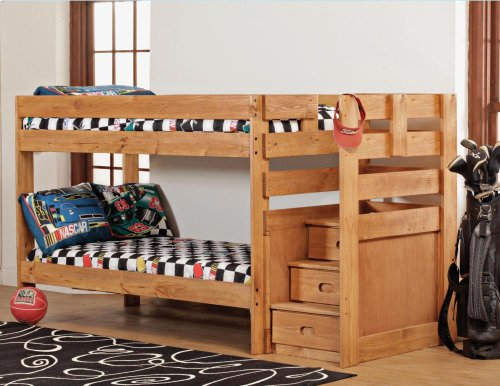 Twin/Twin Complete - Stairstep Bunkbed