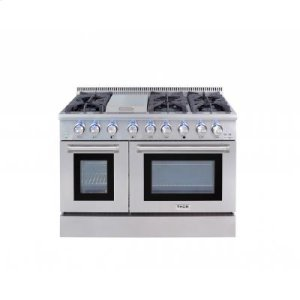 Thor48 Inch Professional Dual Fuel Range In Stainless Steel