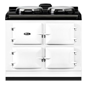 "AGAAga Dual Control 39"" Electric White With Stainless Steel Trim"