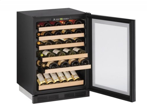 """1000 Series 24"""" Wine Captain® Model With Integrated Frame Finish and Field Reversible Door Swing"""