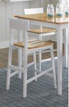 Counter Chair (2/Carton) - Oak/White Finish Product Image