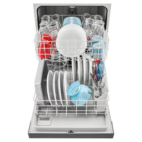 Dishwasher with Triple Filter Wash System - stainless steel