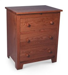 Shaker Deluxe Nightstand with Drawers