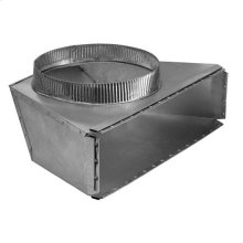 "10"" Round Rear Transition for Range Hoods and Bath Ventilation Fans"