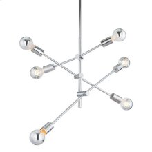 Brixton Ceiling Lamp Chrome