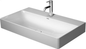 Durasquare Furniture Washbasin Ground 1 Faucet Hole Punched
