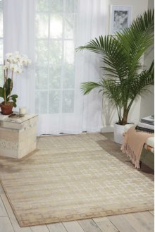 Hollywood Shimmer Ki101 Bisqu Rectangle Rug 3'9'' X 5'9''
